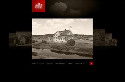 Проект сайта «Дома Пскова»