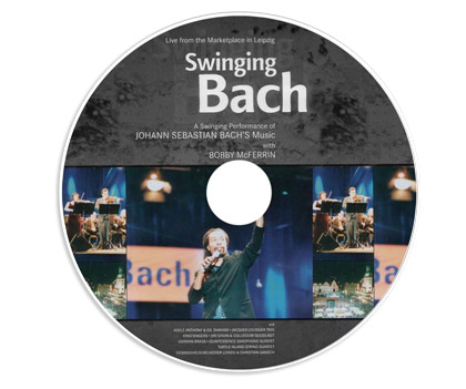 Музыкальный DVD диск «Swinging Bach»: Live From the Marketplace in Leipzig